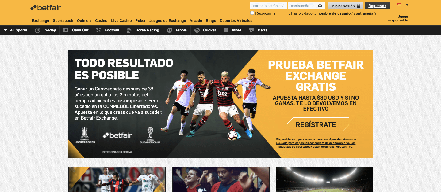 BetFair Mx