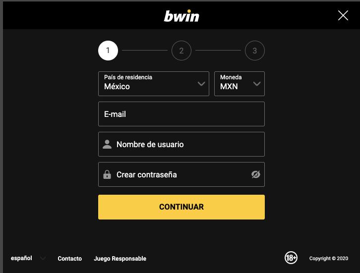 Bwin registar