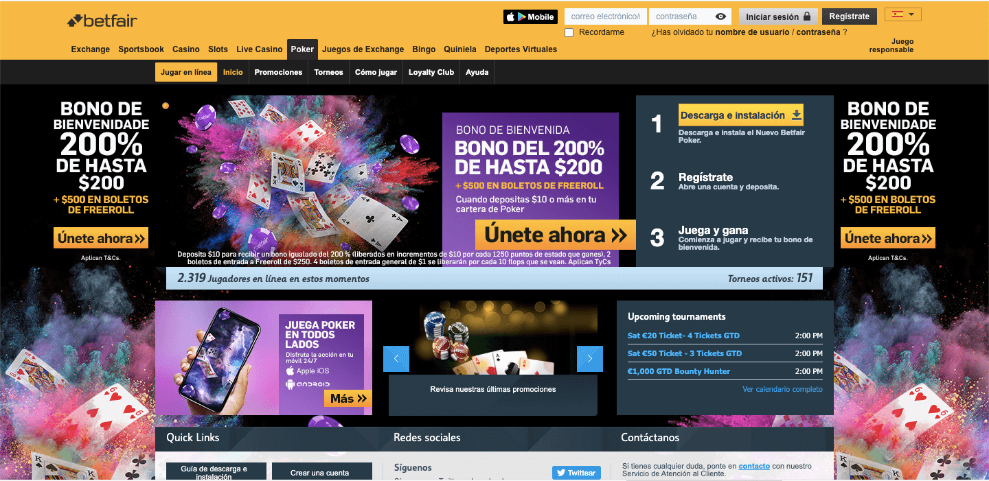 Betfair Casino Mx Poker