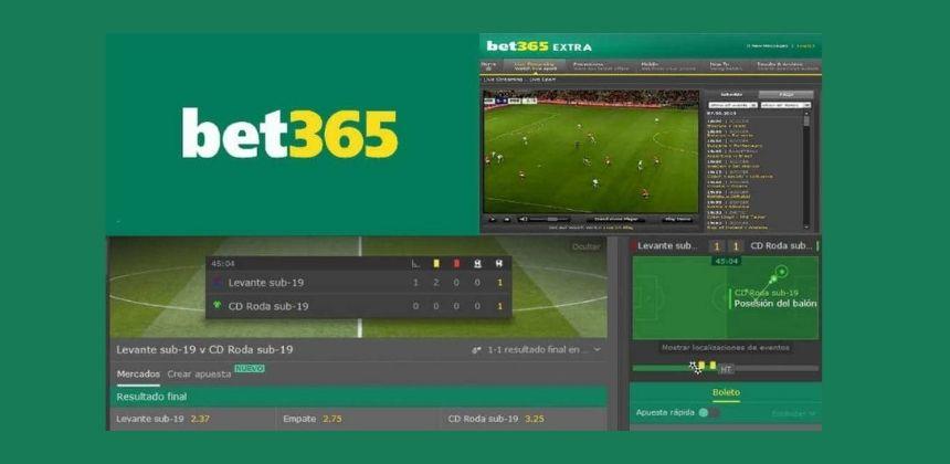 Hacer apuestas Online en vivo en Bet365